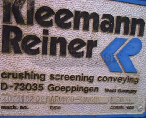 Kleemann Aufgaberinne ARUM-4