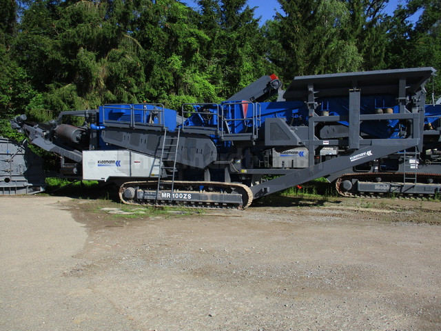 used mobile crushers